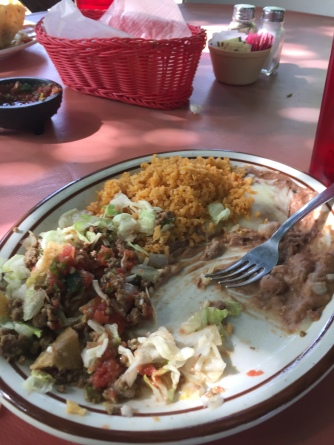 Yummy mexican food.